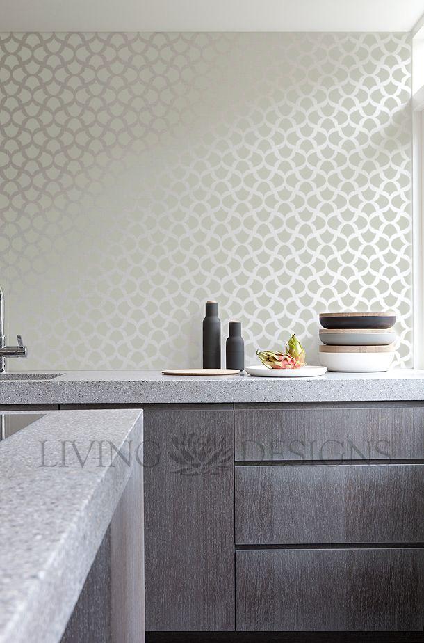 Plantillas para la decoracion de interiores crea efectos - Tapices pared ikea ...