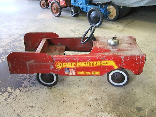 Murray Pedal Tractor Restoration : Best images about murray pedal cars tractors on