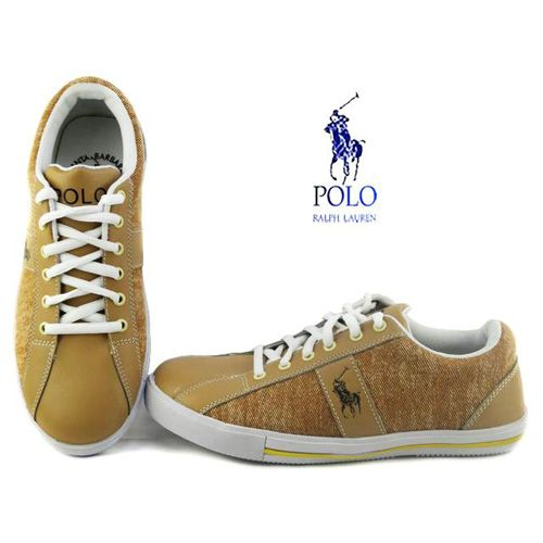Polo Ralph Lauren Mens Giles Casual Shoes Yellow