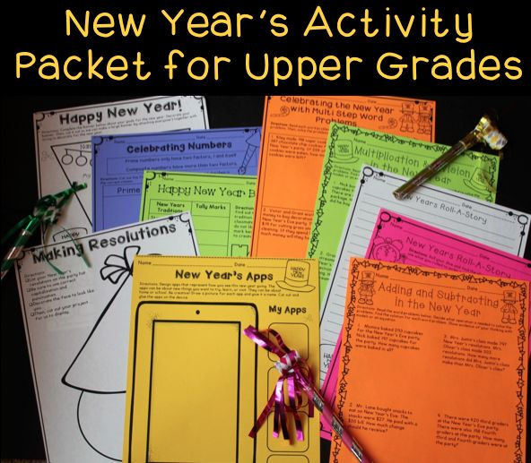 New years writing activities pinterest site