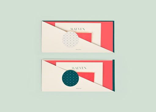 Nice twist on an envelope - love those colours