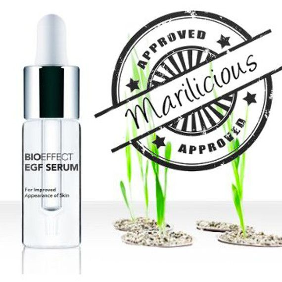 Bioeffect EGF serum review with full list of ingredients, benefits, when and how to use, which skin type it is for and what EGF stands for.