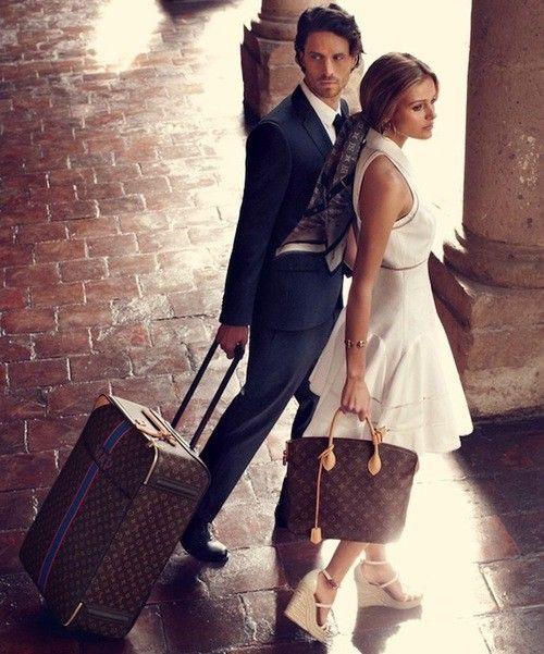 Next overseas purchase = monogram louis luggage