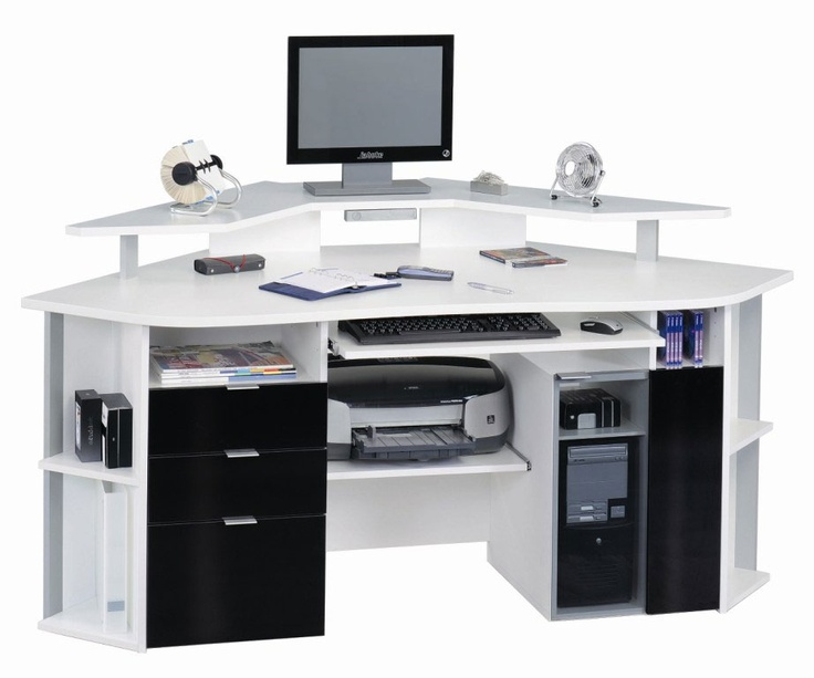 26 best Corner Computer Desk images on Pinterest | Corner computer ...