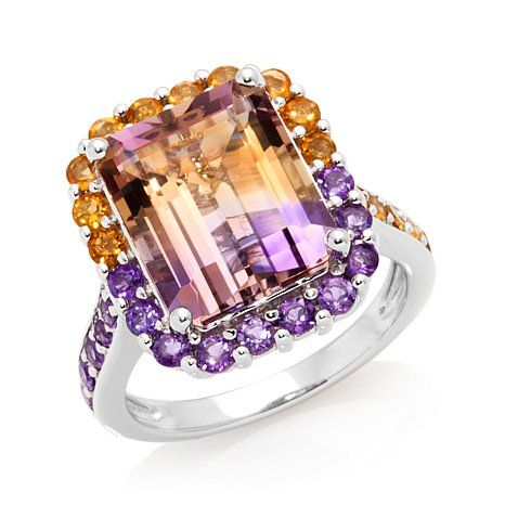 Rarities: Fine Jewelry with Carol Brodie 6.75ct Ametrine and Multigemstone Ster at HSN.com