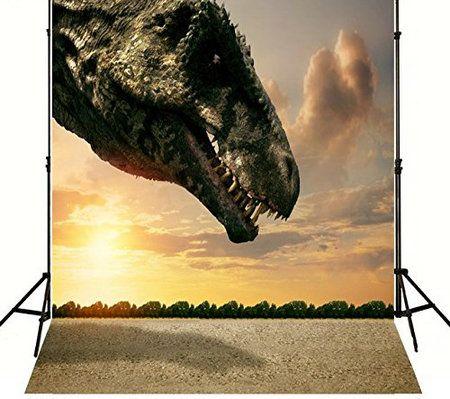 wholesale 3d Dinosaur backgrounds for photo vinyl and Flannelette cloth Computer print children kids photography backdrops cheap