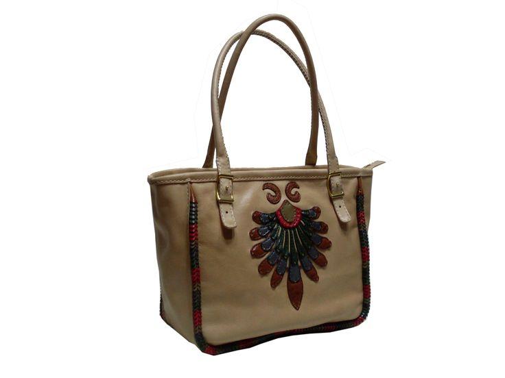 Gön Deri 20108 TAVUS Leather Handmade Bag