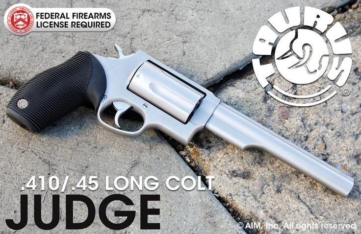 Refurbished TAURUS Judge .410/.45 Long Colt Revolver - $419.95 shipped ...