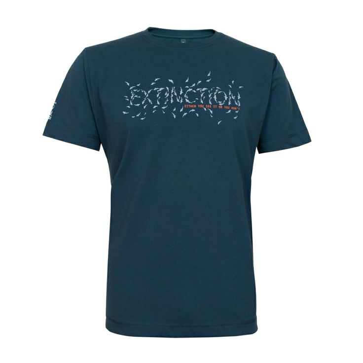 "Project AWARE T-shirts ""Extinction - Either you see it or your don't"" #FourthElement £24.95 #ProjectAWARE"