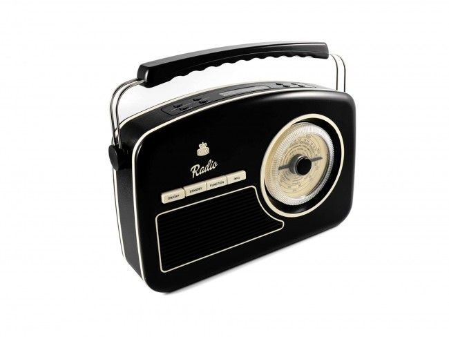 GPO RYDELL DAB Radio Zwart - DAB+ Radio's - Radio's - 123platenspeler.nl