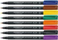 STAEDTLER lumocolor marqueur permanent pilot feutre universel: Marqueur permanent Lumocolor o Dry Safe: peut rester ouvert pendant des…