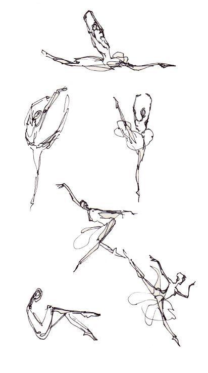 dancersWEB: Tattoo Ideas, Dance Tattoos, Gesture Drawing, Dancer Sketch, Ballerina Sketch, Art, Dance Sketch, Dancer Tattoo, Ballet