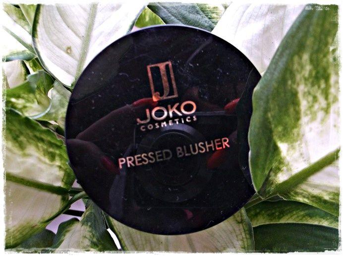 Blog Anki: Joko Cosmetics - Pressed Blusher Róż prasowany J6