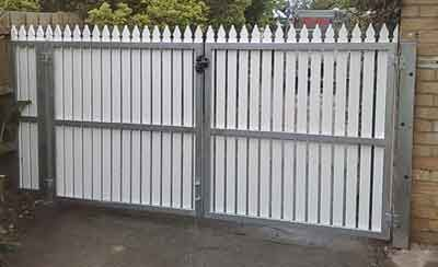 46 Best Images About Gate Ideas On Pinterest Metal Gates