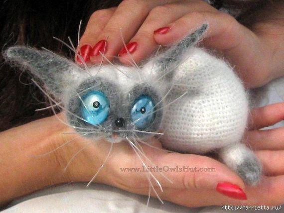 Cat Siam (pattern for crochet)