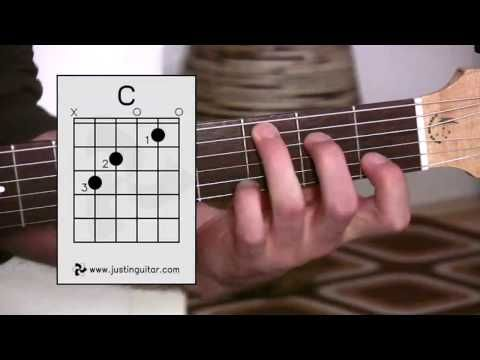 The C Chord (Guitar Lesson BC-132) Guitar for beginners Stage 3
