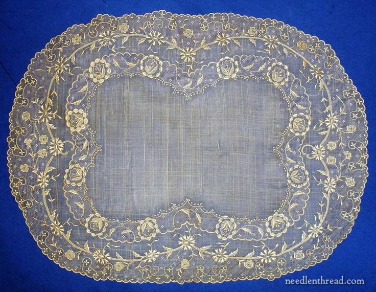 Embroidery On Pina Cloth The Philippines Antiques And