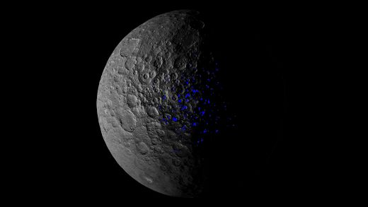 Ceres: Axial Tilt and Surface Ice — #Astronomy