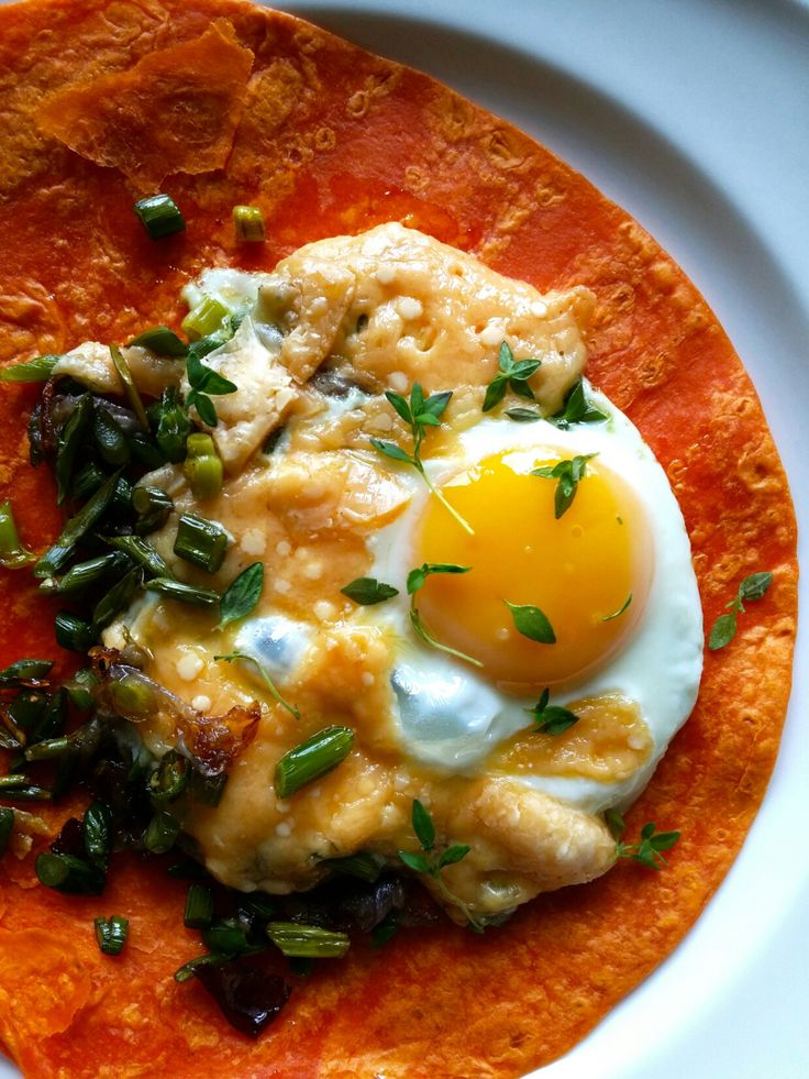 Garlic Scapes and Eggs