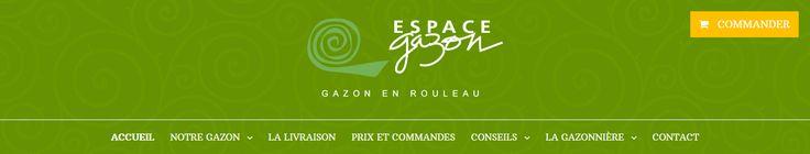 Vous allez bientôt pouvoir découvrir le nouveau site internet de Espace Gazon spécialisé dans la production et la vente de gazon de placage en rouleau.  Une refonte du site internet réalisée par votre agence web evolutiveWeb.com.