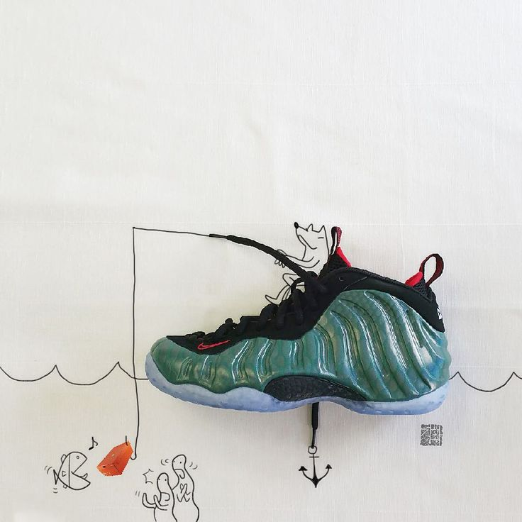 """[Nike Air Formposite] One """"Gone fishing"""" """"The fish rose to the bait, me as well."""""""