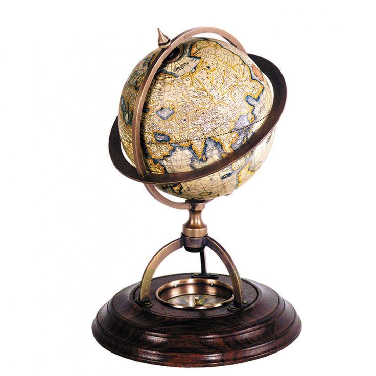 Glob terestru cu compas