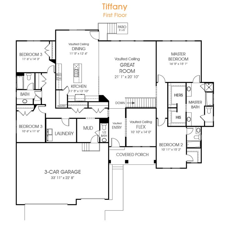 Open Floor Plans With Bonus Room 2400 Sq Ft House Design