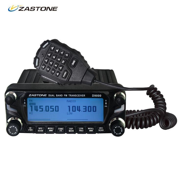 Zastone D9000 Two way radio 512 Channels 50W UHF VHF 136-174MHz 400-470MHz  Car Walkie Talkie Mobile Radio