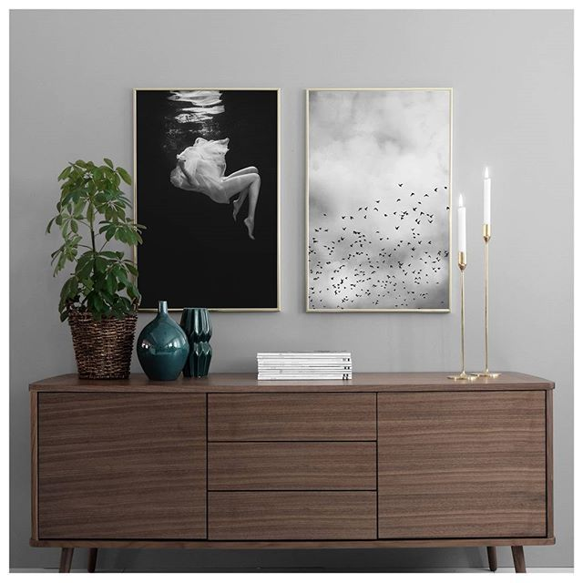 Decorate your home with posters with photo art in black & white or in colour. We have prints for all interior styles, so head over to our web shop and shop til' you drop! Prints from the left: Fallen 50x70, Bird sky 50x70. #desenio #postersochprints #poster #postersonline #plakater #printer #plakateronline #plakat #prints #juulisteet #juliste #julistkauppa #artprints #artposters #plakate #drucke