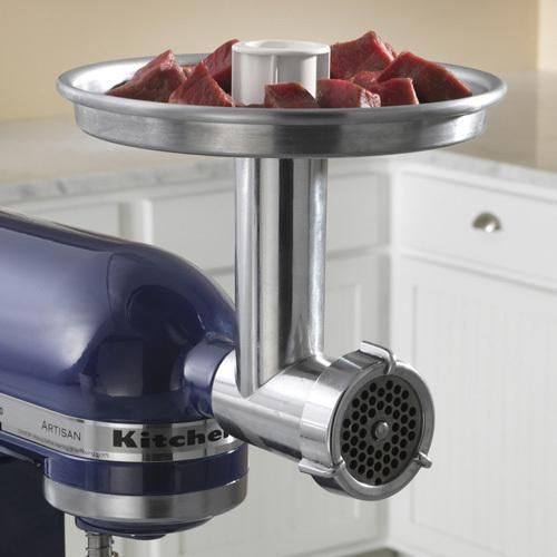 Top 59 ideas about kitchen aid on pinterest meat grinders patterns and kitchen aid mixer - Kitchenaid meat mincer ...