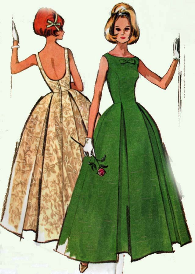1960s Vintage Sewing Pattern McCalls 7076 MadMen by sandritocat