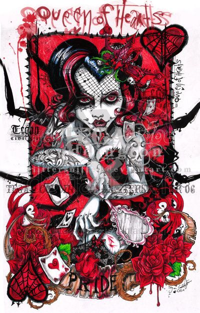 Tegan Cottington, deviant artist --> looove love love her work.. sooo, talented, colorful and dark at the same time