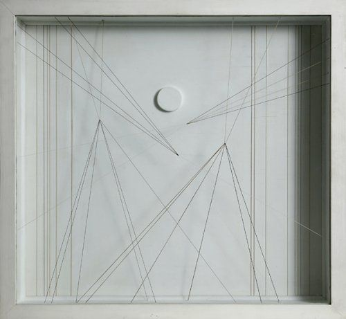 Paule Vezelay is my favorite artist because of her simplicity. Desperately want a few of her pieces.