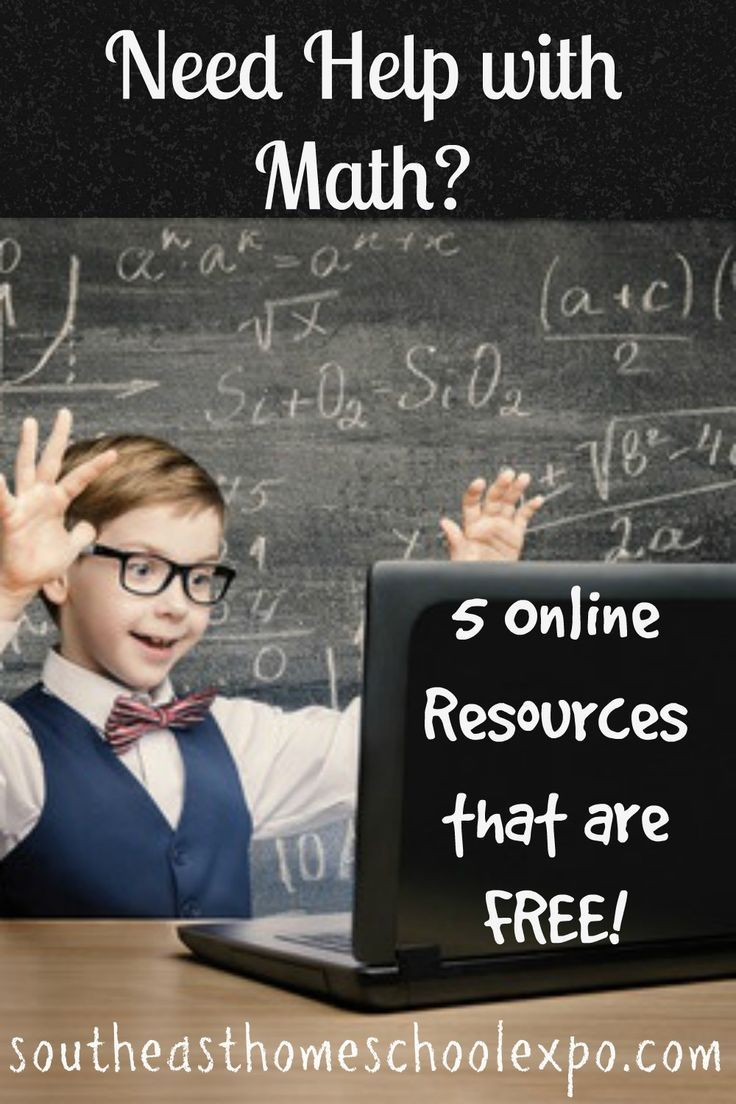As a homeschool parent teaching math it is important to know where you can go to get help with math. Here are some online resources to help with math.