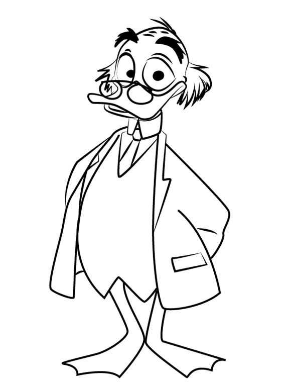 Printable Ducktales Coloring Pages Cartoon Coloring Pages
