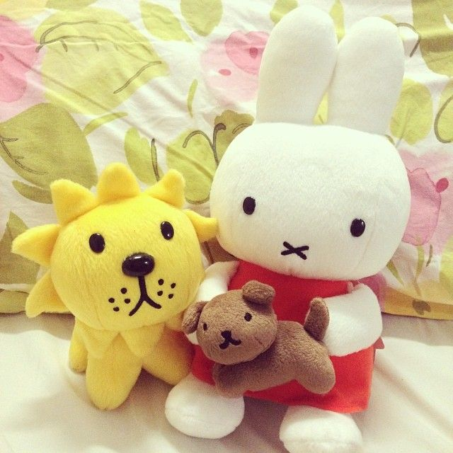 Miffy and friends! This is the cutest thing I have ever seen xx
