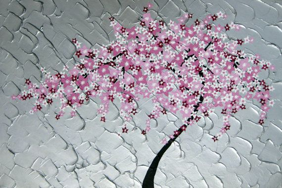 japanese cherry blossom painting japanese cherry by SheerJoy