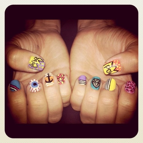 Hipster and Nails on Pinterest