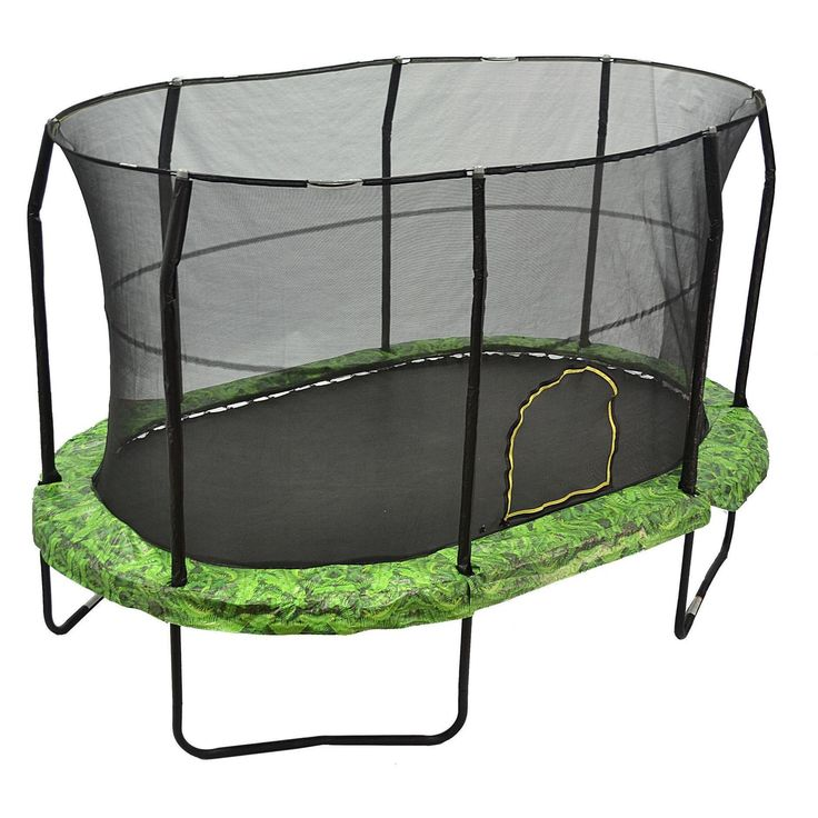 17 X 15 Oval Trampoline With Safety Enclosure: 17 Best Ideas About Oval Trampoline On Pinterest