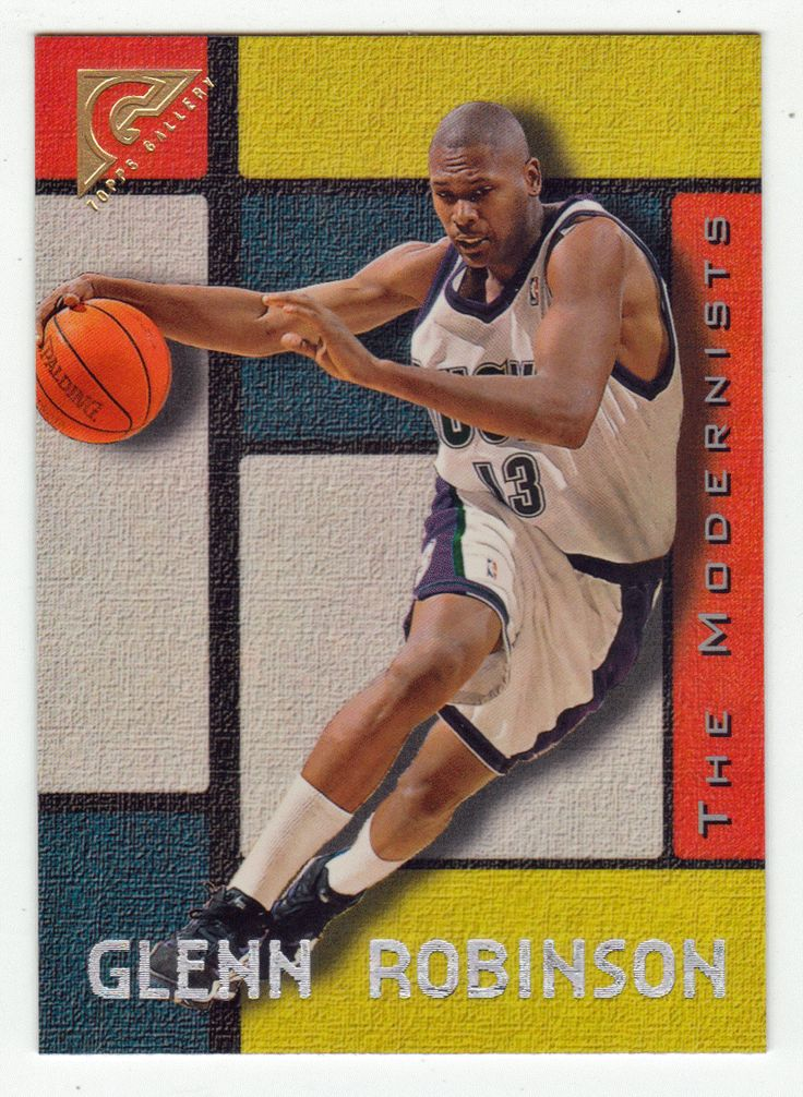 Glenn Robinson # 33 - 1995-96 Topps Gallery Basketball