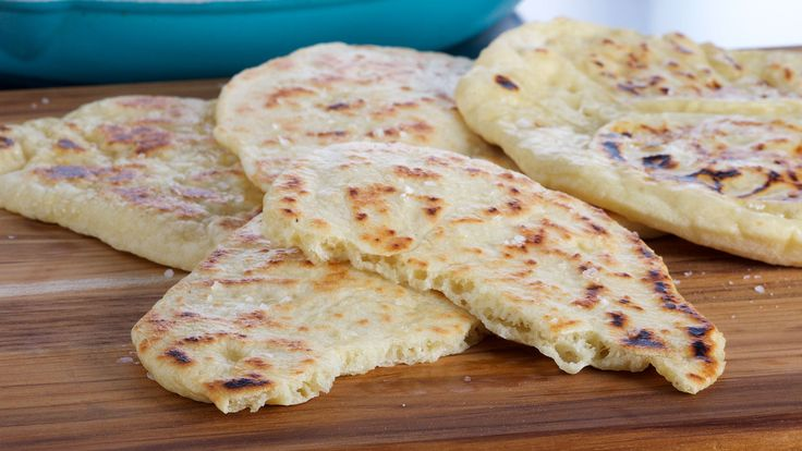 Indian naan bread by Anna Olson