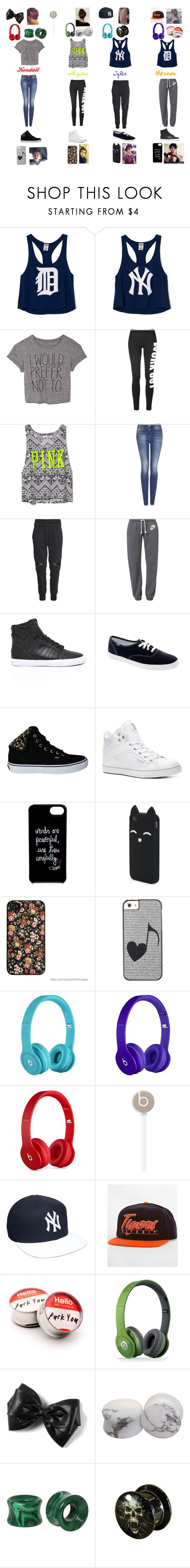 """Ride to Kalahari (5sos Girlfriends)-Quotev"" by luvtofashion ❤ liked on Polyvore featuring Victoria's Secret PINK, Victoria's Secret, Topshop, H&M, NIKE, Supra, Keds, Vans, Pastry and Diane Von Furstenberg"