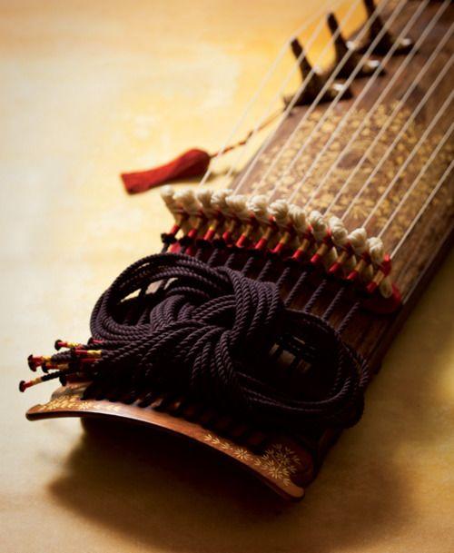 Gayageum, Traditional Korean Musical instrument