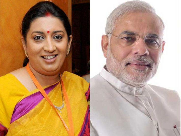 Narendra Modi Has Been Second Marriage To Smriti Irani - Copy
