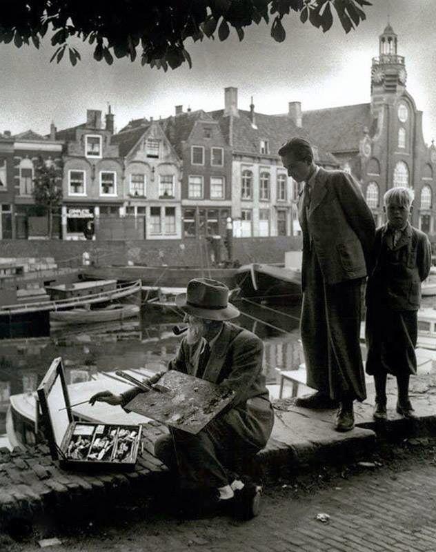 Delfshaven. Schilder Kees van Dongen 1877-1968
