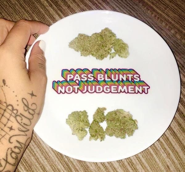 Pass Blunts, Not Judgement! Get the dopest stoner gear at www.shopstaywild.com