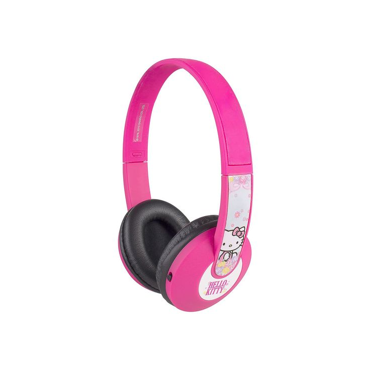 Hello Kitty Kids' Bluetooth Character Headphones by Sakar, Multicolor