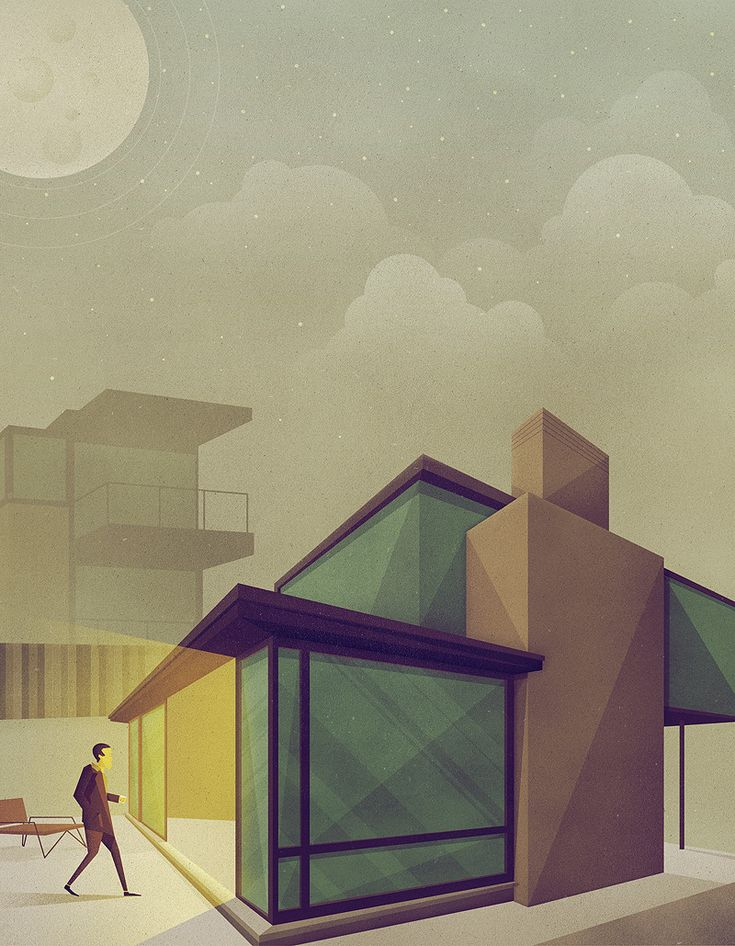 Geometric illustration by Justin Mezzell