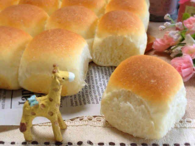 ほんのり甘い♡ミルクちぎりパン♡の画像