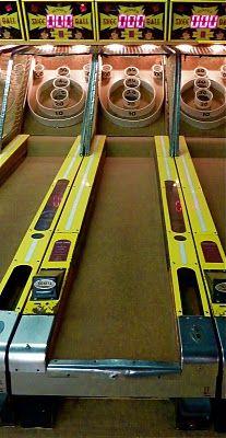 Skeeball....my all time boardwalk favorite!!